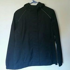 Eddie Bauer rain jacket, size medium